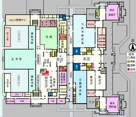 一层平面图 北京大学图书馆