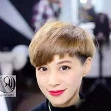 最好看的刘海图片大全:2017剪这几款刘海最漂亮-刘海发型图片 齐 ...