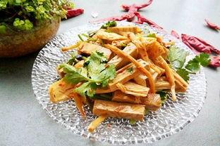 凉拌腐竹豆干的做法