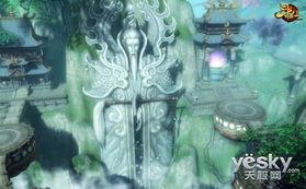 图4:《斗仙》须弥山的巨型神像-细数 斗仙 中那些被KFZ私藏的神秘风...