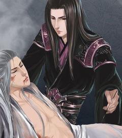 邪恶gif出处-邪恶同人插图 万花哥哥与受伤的纯阳男