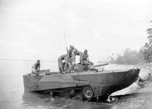 ...调查团测试特二内火艇的浮渡能力-二战日本海军的另类坦克