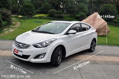 北京现代朗动价格新款朗动1.6多少钱
