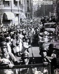 游街示众后被押赴刑场,在中国处决的100余名日本战犯中,有63人系...