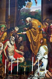 ...耶稣既然确实在圣体中,我人该怎样恭敬圣体?
