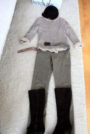 件羊绒衫,一个法国牌子,和同一... s'系列直筒裤   包-----Dior   靴子----...