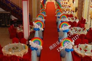 ...阳宝宝宴满月酒周岁生日百日宴生日派对生肖气球主题装饰