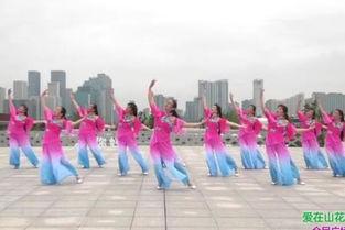 ...在山花烂漫时 张春丽广场舞视频大全