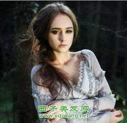冬季时尚女生长发发型 5