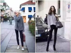 放眼国内外各路穿衣榜样们的秋冬街拍,这条黑色小脚裤绝对是出镜...