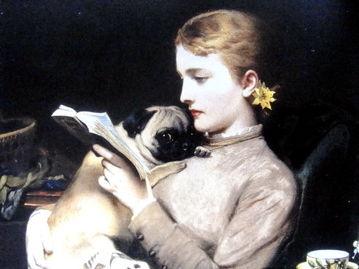 阅读的女人