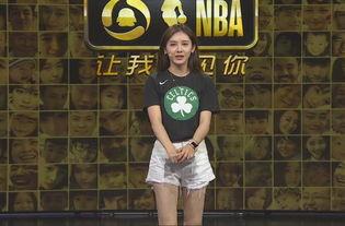 ...枚 傻白甜 的NBA女主播 詹姆斯在她眼里成了 小詹詹