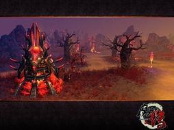 游戏以上古神魔阵营大战为背景,仅设