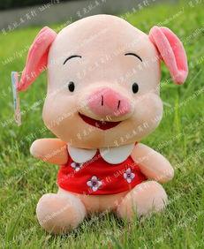 ... 朵朵猪 填充娃娃 毛绒玩具 卡通公仔图片,星星狐 朵朵猪 填充娃娃 ...