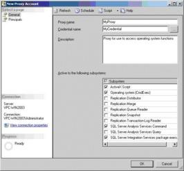 图8:SQL Server Management Studio 中的SQL Server Agent 新代理-sql...