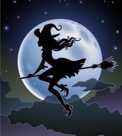 动漫女巫图片戴帽子