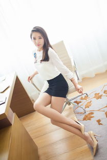 极品气质长腿美女刘一宁超短裙办公室性感写真 一