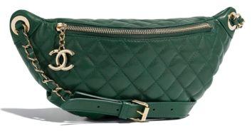 Chanel 腰包官网售价:18800元-宋茜撞衫杨超越 背4万块的包也没有...