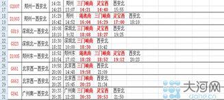 ...南站实施新列车时刻表 运行图出炉