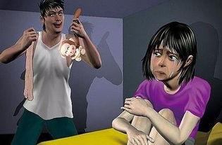 ...一男子看色情片强奸2亲生女 兽父被判9年