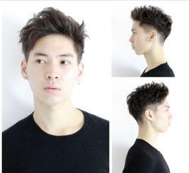 头发两边剃掉的发型,铲两边留中间发型,铲两边短发型男