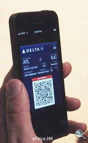 在高分辨率屏幕下,手机屏幕可作为搭飞机的登机牌,十分方便.-...