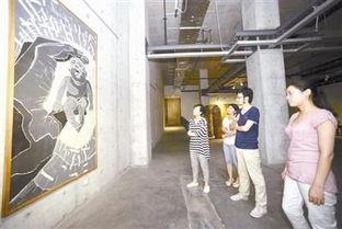 """水木青华是什么意思-\""""这是方力钧早期的严肃版画作品,和他后来成名后的'光头系列'..."""