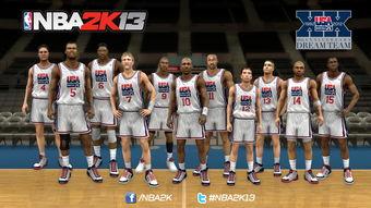 ...2012年美国篮球男子国家代表队及1992年梦幻一队