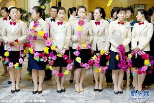 揭秘朝鲜职业女性 想象之外的高颜值 高清组图