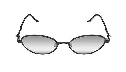 不同脸型适合的眼镜框