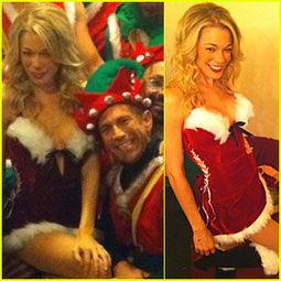 ...姆丝扮性感圣诞老人 与同性恋团体合演为其感动