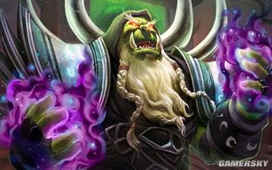 炉石传说 魔兽英雄传 术士 古尔丹 的故事
