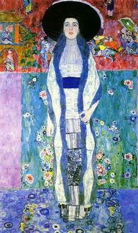古斯塔夫 克林姆画作特色在於特殊的象徵式装