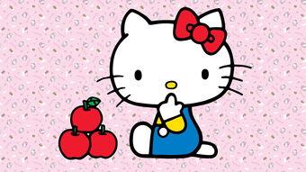 Hello Kitty高清桌面壁纸 1920x1080