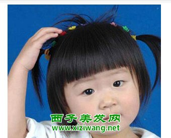 女生时尚短发波波头发型