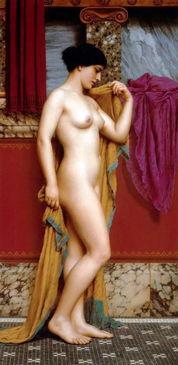 一代艺术大咖,他笔下的柔美女人体,养眼至极