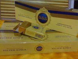 英国产555香烟 团购开始 8元 一包80元 一条