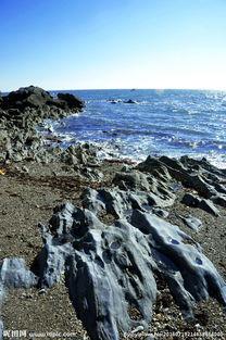 海边石滩图片