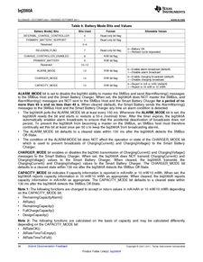 ...ents厂商 BQ2060A E619DBQG4 pdf预览第 26 页, datasheet数据手...