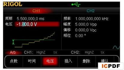 利用任意波形发生器实现复杂类型的频率扫描