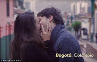 ...影师记录下各国情侣亲吻方式
