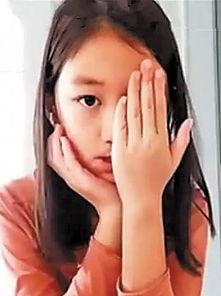 之女李嫣在社交网站分享的视频迅速走红.在这段名为