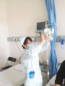打针输液手真实照片-把患者的需求当作服务的动力