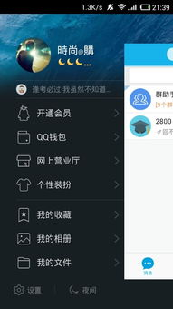 我手机QQ2015聊天设置怎么是QQ轻聊版字体大小设置画面