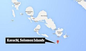 ...所罗门群岛外海世界最活跃海底火山 卡瓦奇 附近惊见 突变 鲨鱼