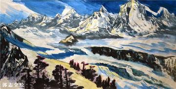 ...推出了其手绘新作《冬季到四川来看雪》.