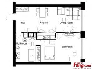80平方自建房设计图-2018农村80平方房屋设计图 房天下装修效果图