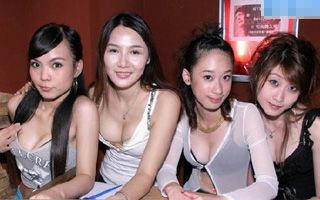 上海酒吧爆乳女孩风情
