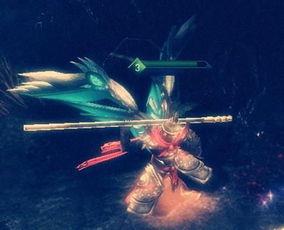 血魔圣决-W技能如意金箍棒——腾云驾雾:向前伸长金箍棒,对第一个接触到的...