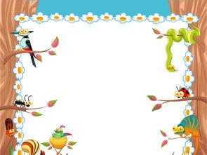卡通背景小动物卡通动物展板图片设计素材 高清ai模板下载 0.74MB 大...